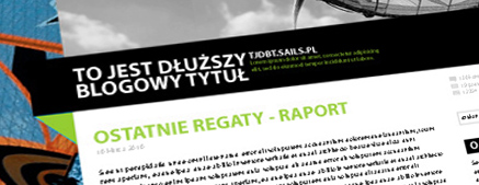 Mój blog w sails.pl